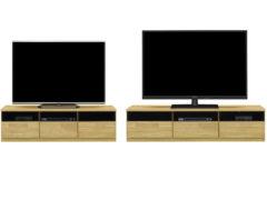 TVボード(ガラス戸)