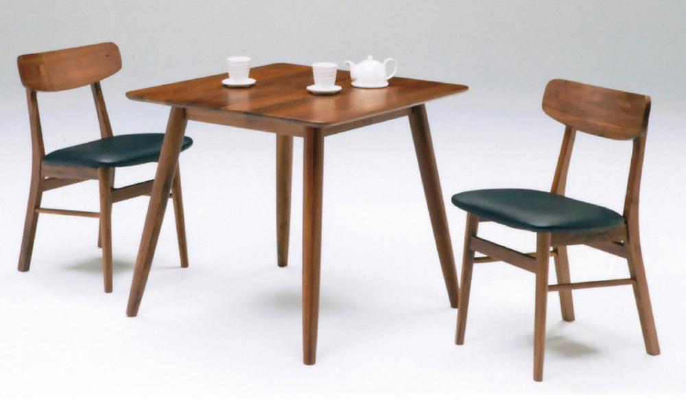 テーブル幅80㎝ チェア✕2脚