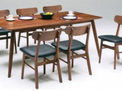 テーブル幅180㎝ チェア✕6脚