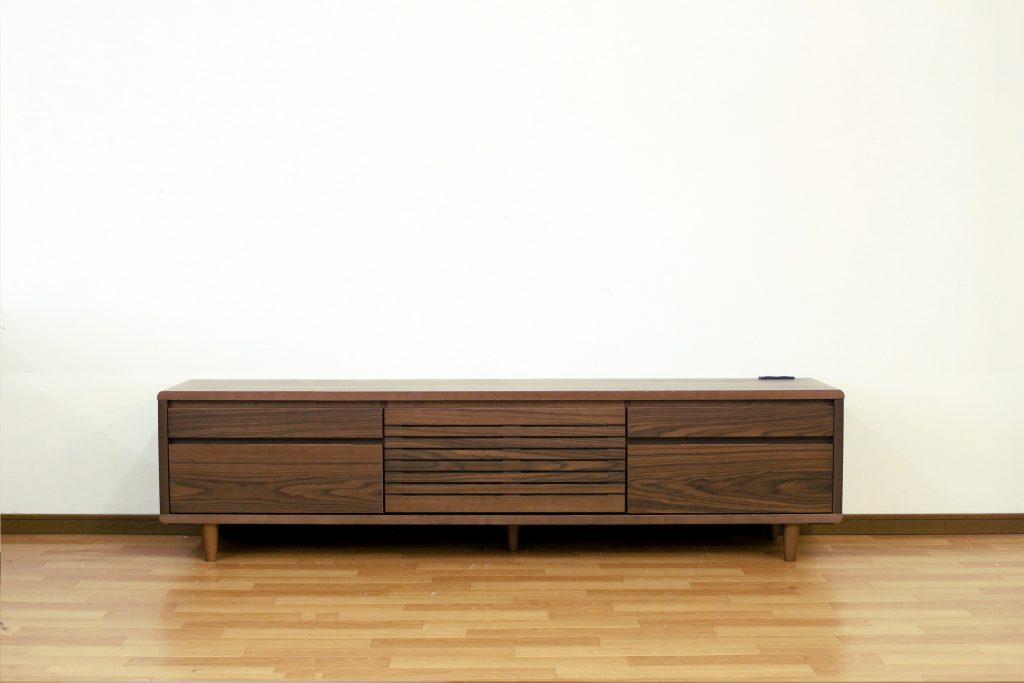 TVボード200幅 ブラウン色