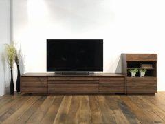 200TV+60キャビ/ウォールナット色