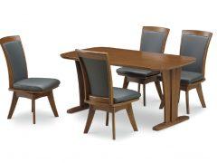 テーブル幅150㎝ 回転チェア✕4脚