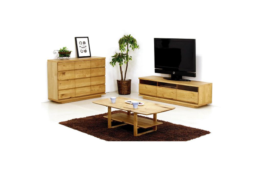 118幅リビングボード+153幅TVボード+センターテーブル