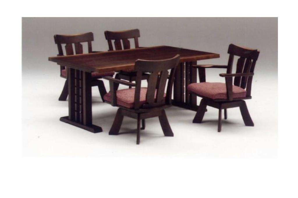 テーブル幅150㎝・回転チェア✕4脚