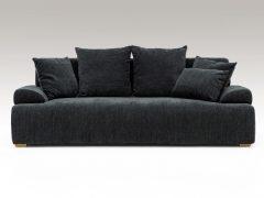 3人掛けソファ ブラック色